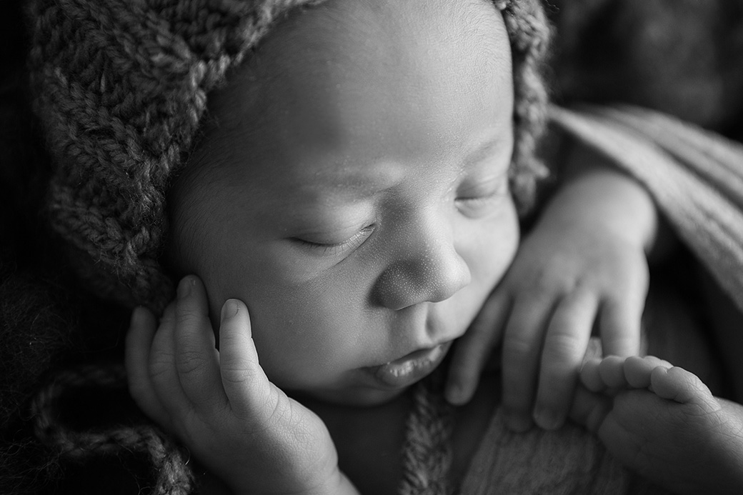 Liam | Saint John, New Brunswick Newborn Photographer [Studio]