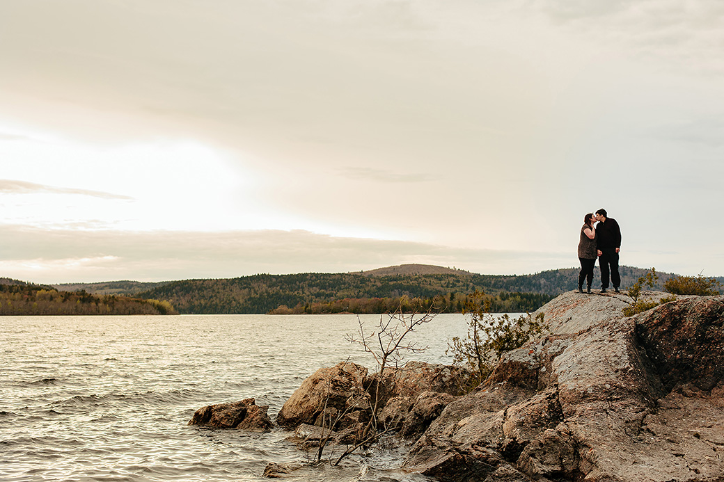 Rachelle and Matt | Rothesay, NB Engagement Photographer [Outdoor]