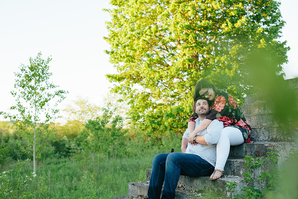 Sally and Chris | Norton, NB Engagement Photographer [Outdoor]