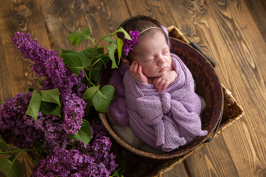 Fiona | Saint John, New Brunswick Newborn Photographer [Studio]