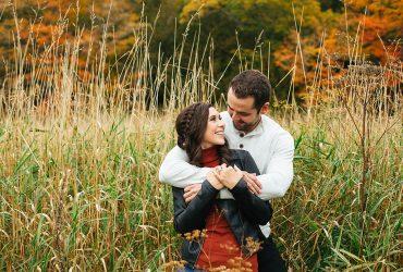 Brittany and Dan | Saint John, New Brunswick Engagement Photographer [Outdoor]