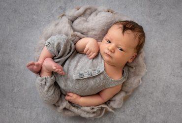 Charlie | Saint John, New Brunswick Newborn Photographer [Studio]